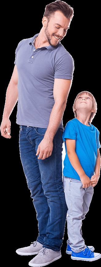 Paintball rodzice z dziećmi